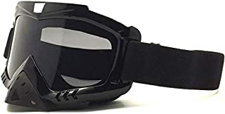 Sunglasses Protect Ski Goggles Motorcycle Goggles with Mask Airsoft Safety Goggles Mask for Driving Hunting Fishing Shooting portable (Color : 5, Size : Onesize)