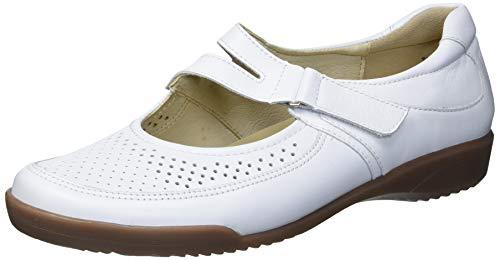 ARA Women's Mary-Jane Sneaker, Weiss, 8