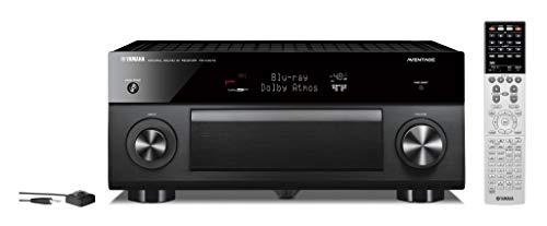 Yamaha RX-A3070 Schwarz - 9.2 AV-Receiver (230 Watt, Bluetooth, dtsX, DAB+, Zone 4, Dolby Atmos)