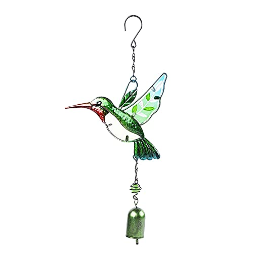 WUHOVILA Wind Chimes Garden Backyard Church Hanging Decor Indoor and Outdoor Decoration of Hummingbird Wind Chime Garden Birds Wind Chimes