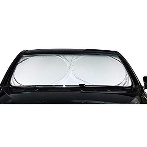 XIN CHANG LWH Parabrisas De Sol, Tela Recubierta De Plata Aislamiento De Calor Aislamiento De Calor del Sol Reflector De Sol, Tamaño Universal para Automóvil, SUV, Camión(Size:160 * 86CM)