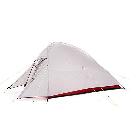 Faus Koco Tienda De Campaña Blanca Acampar Al Aire Libre Espesamiento De Agua De Lluvia 2 Personas Playa Camping Tienda De Campaña Individual Doble Salvaje