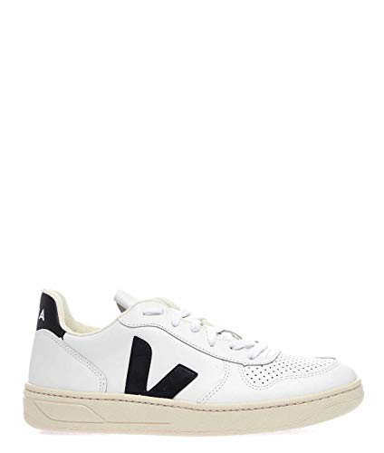 Luxury Fashion | Veja Dames VXW020005 Wit Leer Sneakers | Lente-zomer 20