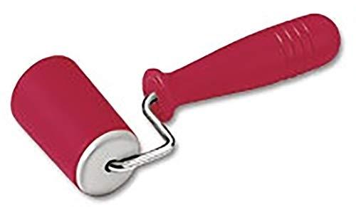 KAISER Backform-Roller 6,5 cm KAISERflex Red 100% lebensmittelechtes Silikon mit Metallkern ergonomische Griffe hohe Formstabilität und Flexibilität