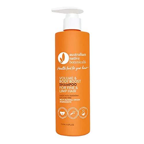 Australian Native Botanicals Natural Shampoo For Fine, Limp & Oily Hair - Vegan Sulfate Free Shampoo For Men & Women - Natural Hair Care, 250 ml 5955EN06