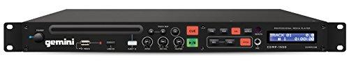 Gemini CDMP-1500 - Professioneller 1HE Rackmount CD-Player für Bars, Clubs, Tanzstudios UVM.