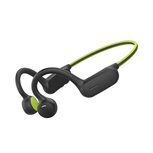 Auriculares Deportivos InaláMbricos con Bluetooth 5.0, Diseño Open-Ear, Resistente al Polvo y al Agua IPX4,Tecnología de Conducción ósea,Adecuado para Gimnasio, Deportes, Correr, Trabajar,1