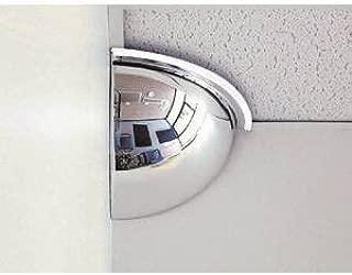 See All PV18-90 Panaramic Quarter Dome Plexiglas Security Mirror, 90 Degree Viewing Angle, 18