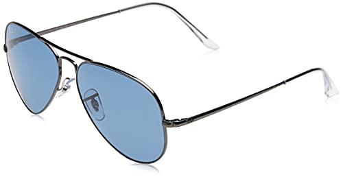 Ray-Ban 0RB3689 Gafas, Gunmetal, 58 Unisex