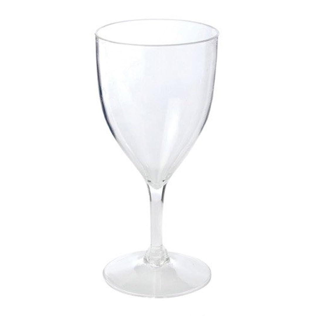 休憩する課すアパル1 849 硬質アクリルワイングラス、クリア