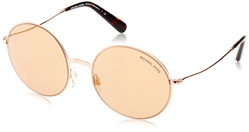 Michael Kors Kendall II 1026R1 55 Occhiali da Sole, Oro (Rose Gold/Rose Gold Flash), Donna