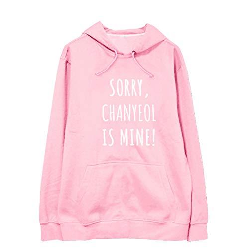 FY Kpop EXO Pullover Sweatshirt Unisex Langarm Baumwolle Hoodies EXO Lässige warme Mäntel und Jacken