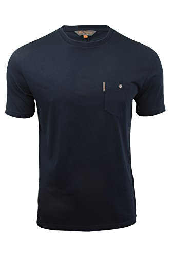 Herren T-Shirt von Ben Sherman kurzärmlig (Navy Blazer) XXL