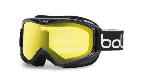 Bollé MOJO Shiny Black/Clear | Medium - Snow Goggles Unisex-Adult