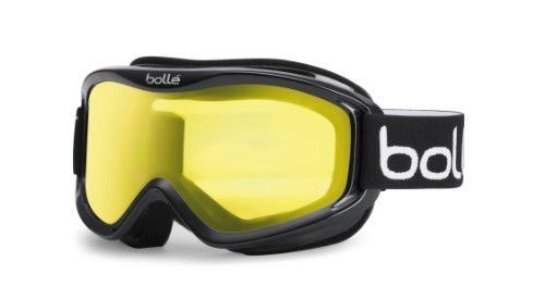 Bollé MOJO Shiny Black/Clear Medium Ski Goggles Unisex-Adult