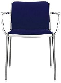 Kartell Audrey soft chaise lot de 2, bleu