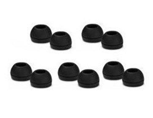 Sennheiser - 5 paia di gommini per auricolari IE4, colore: Nero