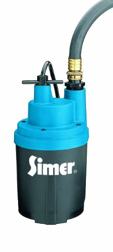 Simer 2330 Smart Geyser 1/4 HP Automatic Utility Pump -