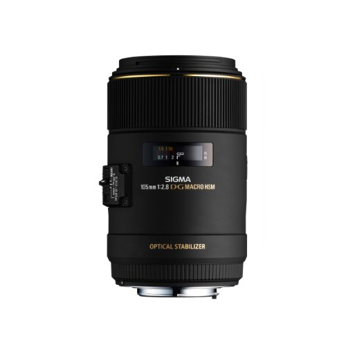 Sigma 105mm F2.8 EX DG OS HSM Macro Lens for Sony...