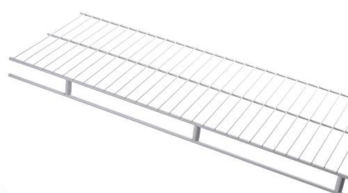 Rubbermaid 3D9900WHT Laminated Closet Shelf 2-Inch by 4-Feet White