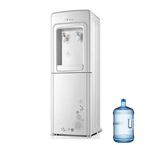 Relaxbx Heiß- und Kaltwasserspender mit 3-Gallonen-Flasche, sofortiger Heißwasserspender für das Büro zu Hause, Kindersicherung und energiesparend, einfach zu bedienen (Farbe: Weiß, Größe: Warm/Heiß)