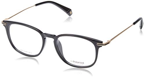 Polaroid PLD D363/G Gafas, Negro/Dorado, 50 Unisex Adulto