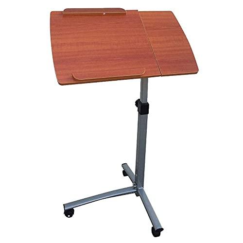 SuRose Gtracing Chair Gaming, Mesa de Estudio Multifuncional, Escritorio para computadora de elevación para Uso doméstico, Marrón