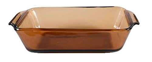 Anchor Hocking Harvest Amber Loaf Pan ( 1 Quart ) ( 441 )