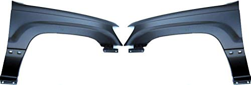 Front Fender Compatible with 1999-2004 Jeep Grand Cherokee Driver and Passenger Side