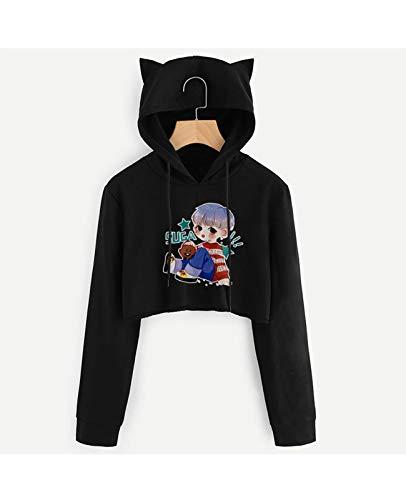Sudadera KPOP BTS Unisex Sudaderas con Capucha Impreso Moda Sweater 3D Áme Thices Pocket Pullover Tops Pullover Suave Cómodo Manga Larga Hombres Mujeres (Color : B, Size : Small)
