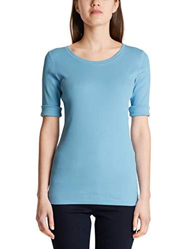 Marc Cain Sports T-Shirts T-Shirt, Blu (Celestial 326), 40 (Taglia Produttore: 1) Donna