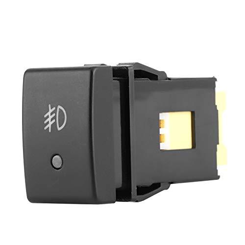 Interruptor de luz antiniebla, interruptor de botón, botón de interruptor de luz de lámpara, accesorio de coche para Grand Vitara/Jimny
