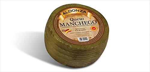 Aldonza Ausgehärteter Manchego-Käse D.O.P. 3 kg. ca.