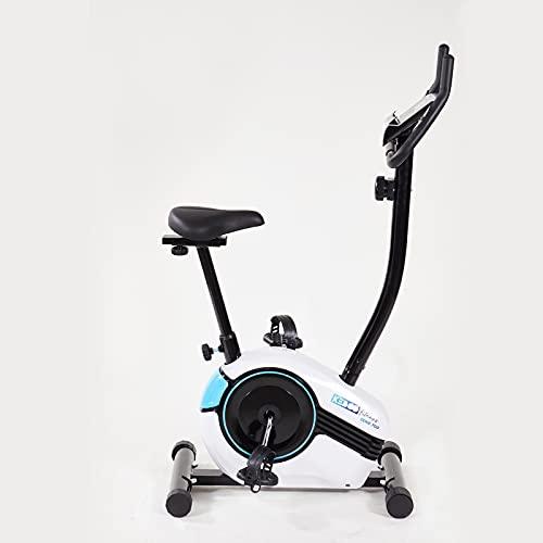 Bicicleta Estática Keboo Serie 700 Magnética con Pulsómetro de Manillar, 8 Niveles, Asiento y Manillar Ajustables y Pantalla LCD