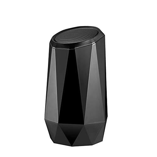 qiyanNew bunter Bluetooth Lautsprecher-Kristalldiamant RGB, der helles kreatives Audio atmet