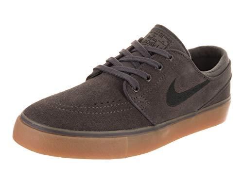 Nike Herren Stefan Janoski (Gs) Skateboardschuhe, Mehrfarbig (Thunder Grey/Black-Gum Light Brown 017), 38.5 EU