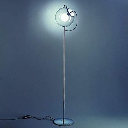BINGFANG-W Dormitorio Sencillo Piso Led nórdica Creativas Luces de Noche Sala de Estar Estudio Moderna lámpara de la Burbuja de jabón lámpara de pie, Eye-Cuidado Vertical luz del Piso Lámparas de pie