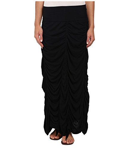 XCVI Jersey Peasant Skirt Black XS (Women