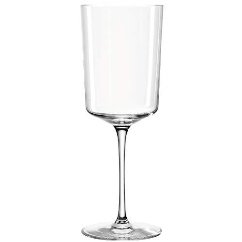 Leonardo Nono Weißweingläser, Weinkelch mit gezogenem Stiel, spülmaschinenfestes Weinglas, 6-er Set, 460 ml, 066295