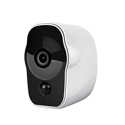 Rain City Oplaadbare bewakingscamera met bewegingsdetectie 2-weg audio wifi, micro SD-slot en waterdicht, nachtzicht 1080p videouitgangsbewakingscamera voor binnen en buiten