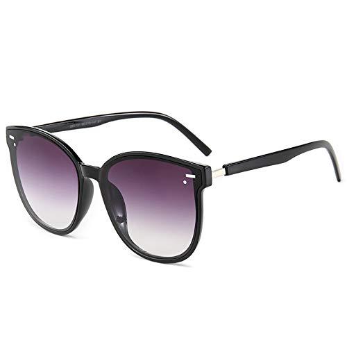 Gafas de Sol Sunglasses Moda Cool Round Style Gradient Gafas De Sol Hombres/Momen Design Driving Cheap Vintage Sun Glasses No2