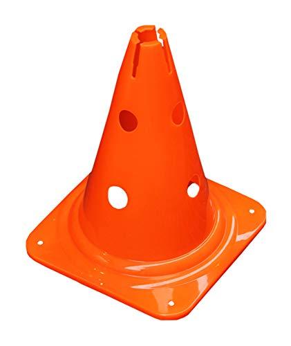 Agility Sport pour Chiens - cône avec Trous, 30 cm, Orange - 1x MZK30o
