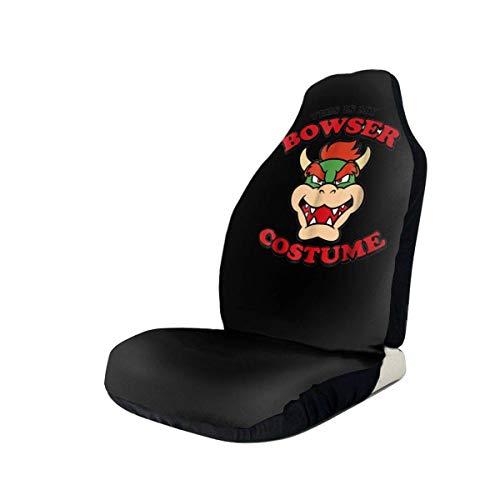 Bowser kostuum auto stoelhoezen beschermers voor de meeste auto's