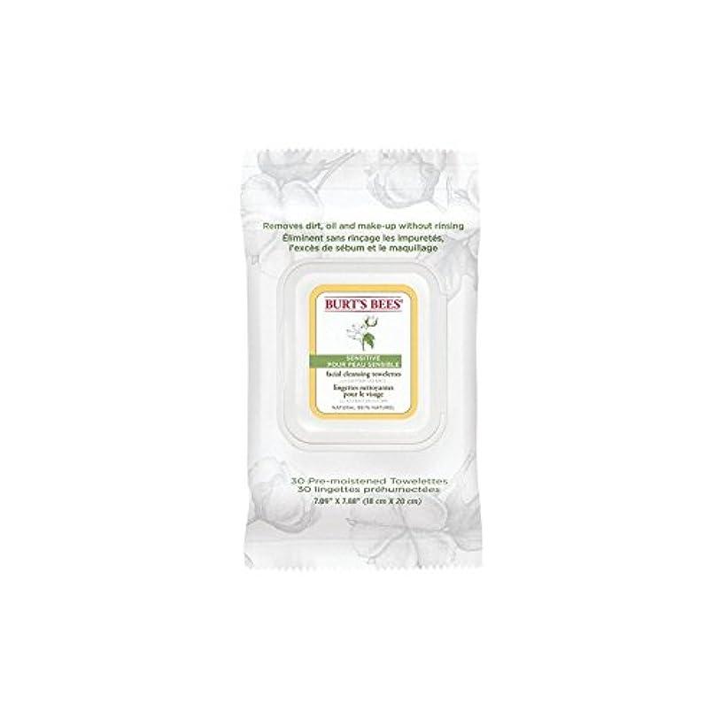 端末保存郡ワイプ、顔バーツビー敏感 x2 - Burt's Bees Sensitive Facial Wipe (Pack of 2) [並行輸入品]
