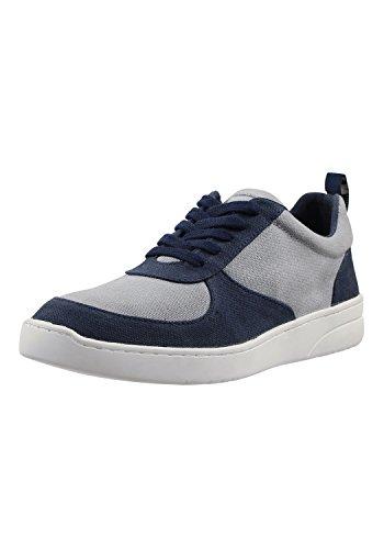MELAWEAR Herren Sneaker - Nachhaltig mit Fairtrade Cotton, GOTS & Grüner Knopf Zertifizierung, Farbe :blau/grau, Größe :41
