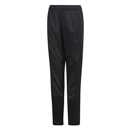 adidas Kids' Tiro 19 Training Pants, Black/Black, Medium