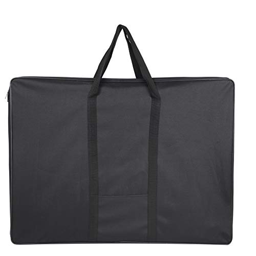 Jjring Carry-All Wired-Frame Nylon Portfolio Case, 37 Inches by 28 Inches, Black