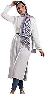 بلوزة بيسيك طويلة للنساء من حجاب، تناسب وزن من 50-100 كجم