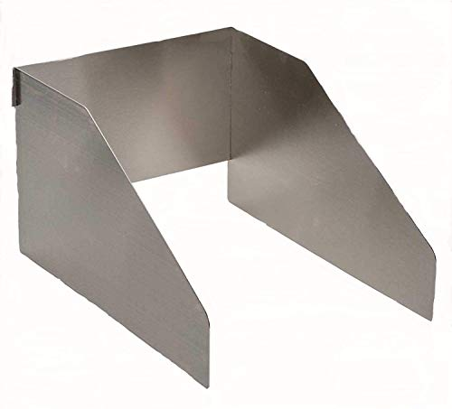 Kettes Grillzubehör Windschutz Sizzle Zone aus Edelstahl für Napoleon Le/Lex/Prestige/Broilking