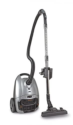 Fakir Artemis TS 150 – Aspiradora cilíndrica con Bolsa I Aspiradora silenciosa con Motor de Alto Rendimiento I Aspiradora con Cable y Filtro HEPA 13 para alérgicos I Radio de acción de 9 m I 700 W